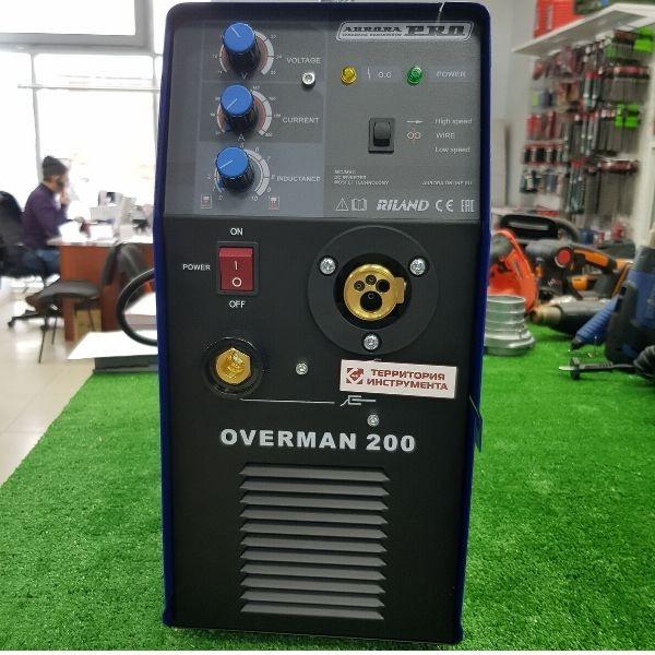 Сварочный аппарат Аврора Оверман 200