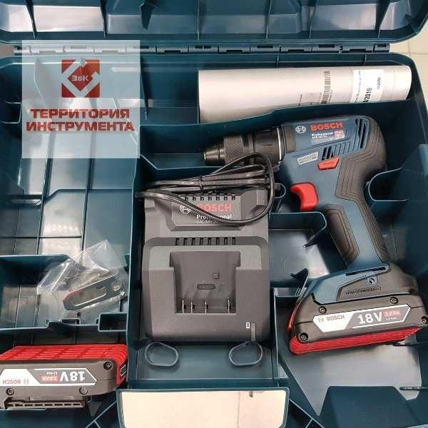 Шуруповерт Bosch GSR 18V-50