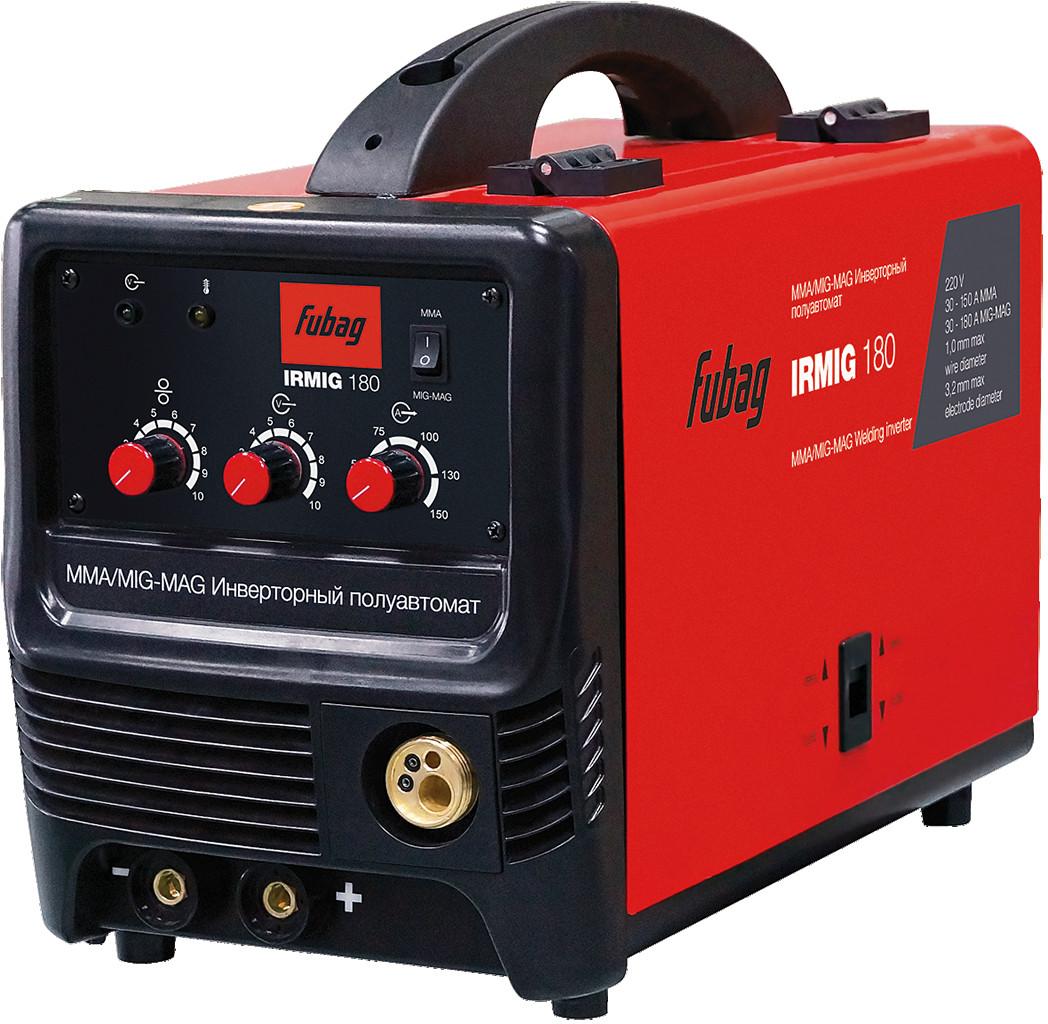 Сварочный полуавтомат инвертор FUBAG IRMIG 180 38608 с горелкой FB 250 3 м