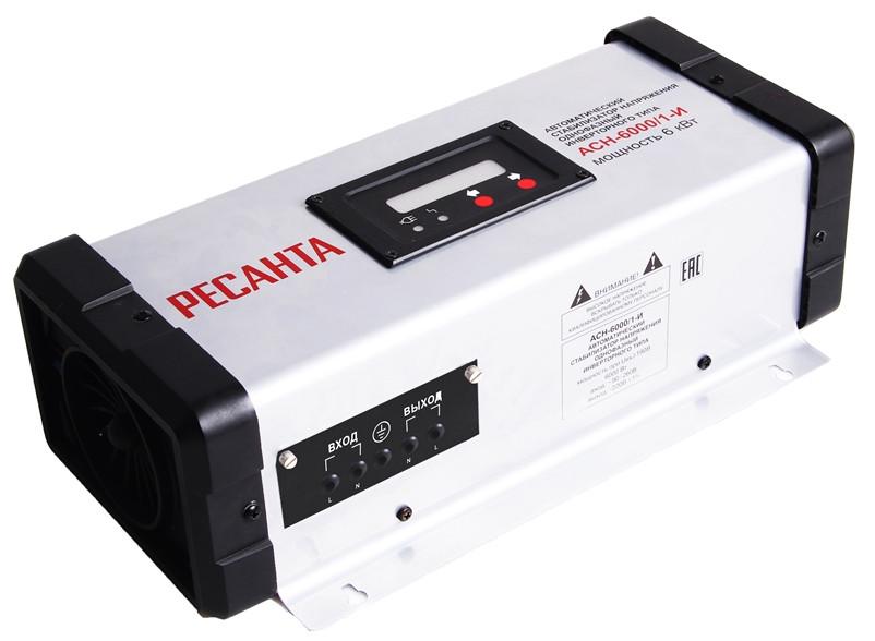 Стабилизатор Ресанта АСН-6000/1-И (инверторного типа)