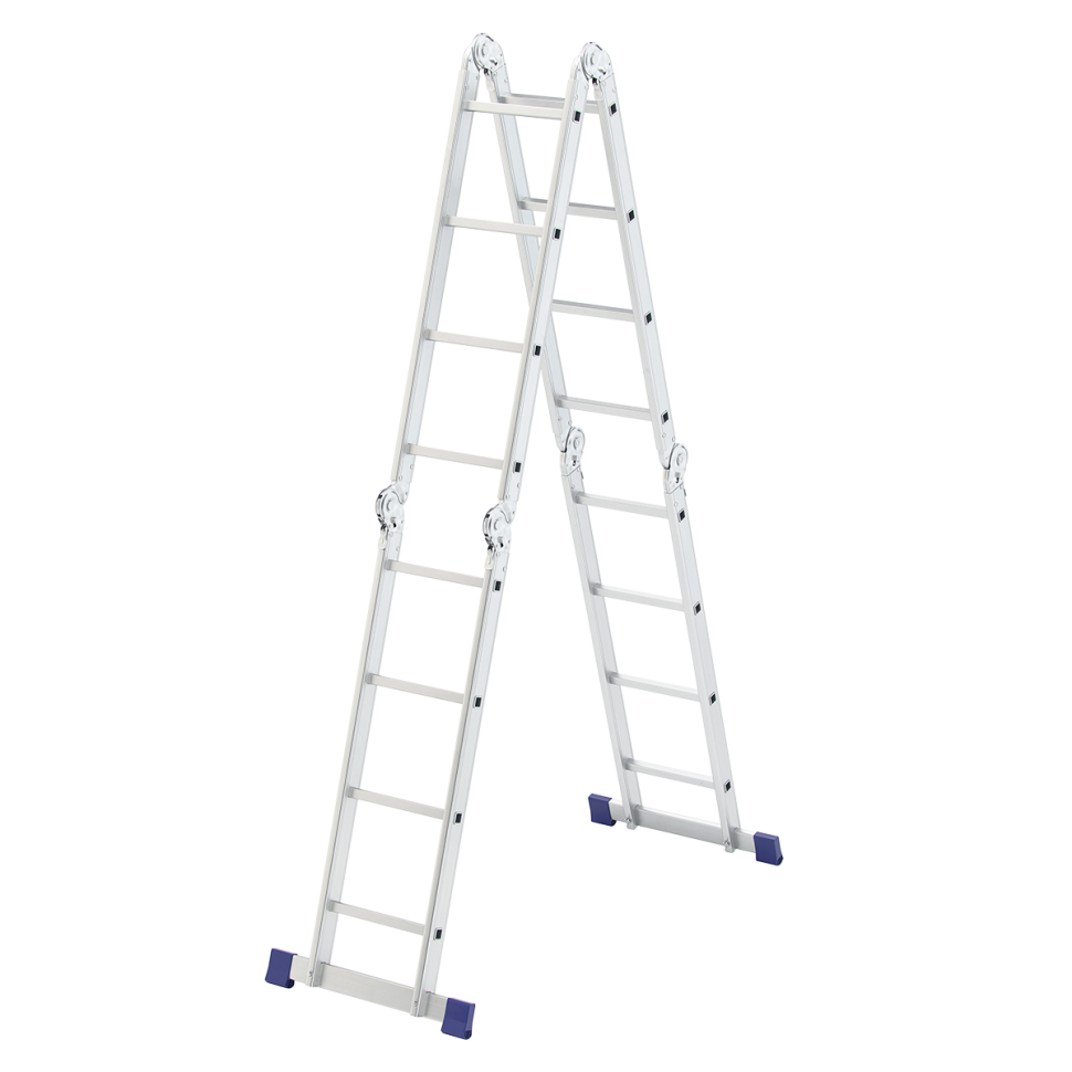 Лестница трансформер алюминиевая, 4х4 Сибртех