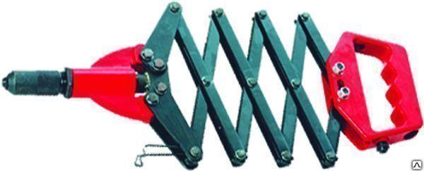 Заклепочник 800мм гармош. 2.4-3.2-4.0-4.8мм Matrix (Профи) 405505