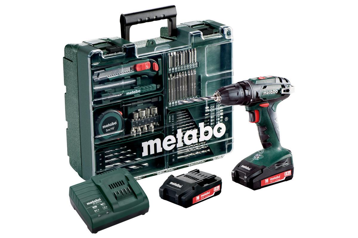 Аккумуляторный винтоверт Metabo BS 18 Li в наборе (602207880)