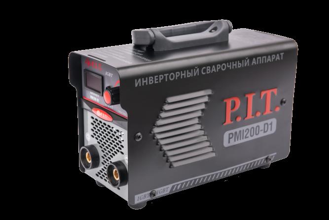 Инвертор сварочный PIT PMI200-D IGBT (200 А,ПВ-60,1,6-3.2 мм,4квт, от пониж.тока 170,гор старт)