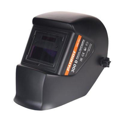 Маска сварщика PATRIOT 300D в индивидуальной упаковке