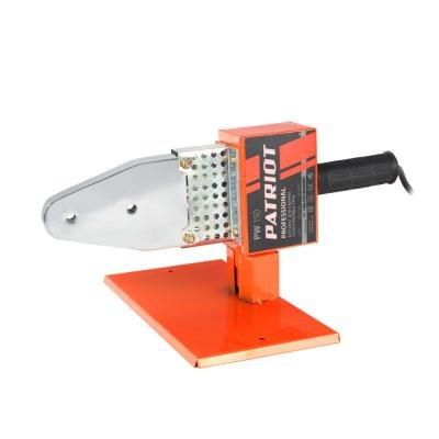 Аппарат для сварки пластиковых труб PATRIOT PW 150 The One 875W, 6 насадок, стойка, отвертка, кейс м