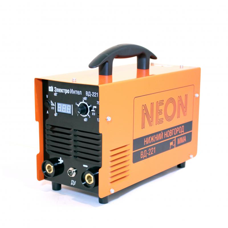 Инвертор сварочный NEON ВД-221 220В
