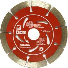 Диск алмазный Trio Diamond 125*22,23 Сегментный серия Grand hot press по армированному бетону,железо