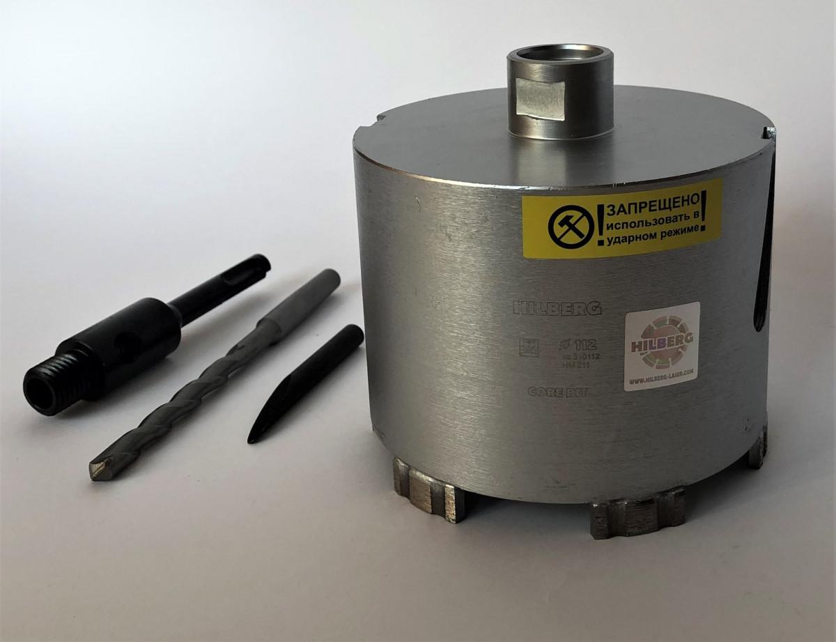 Коронка алмазная по бетону Trio Diamond 102 мм Hilberg Laser HM210