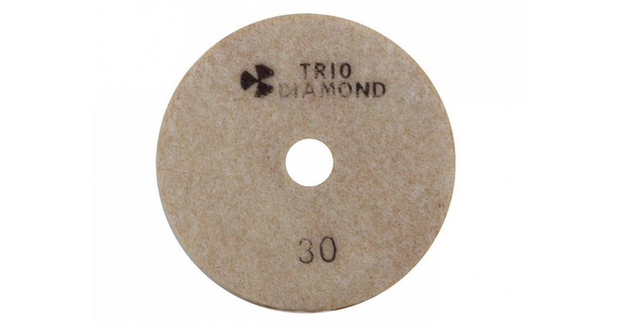 """Круг алмазный гибкий шлифовальный """"Черепашка"""" Trio Diamond 100 № 3000"""