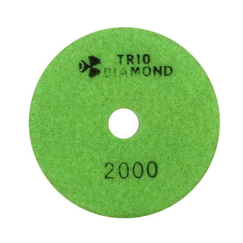 """Круг алмазный гибкий шлифовальный """"Черепашка"""" Trio Diamond 100 № 2000 (сухая шлифовка)"""