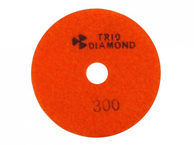 """Круг алмазный гибкий шлифовальный """"Черепашка"""" Trio Diamond 100 № 300"""