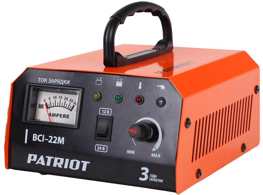 Зарядное устройство PATRIOT BCI-22M импульсное