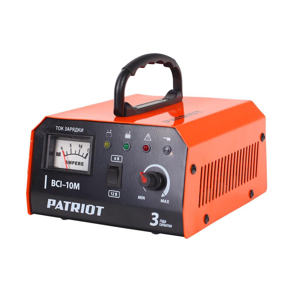 Зарядное устройство PATRIOT BCI-10M импульсное