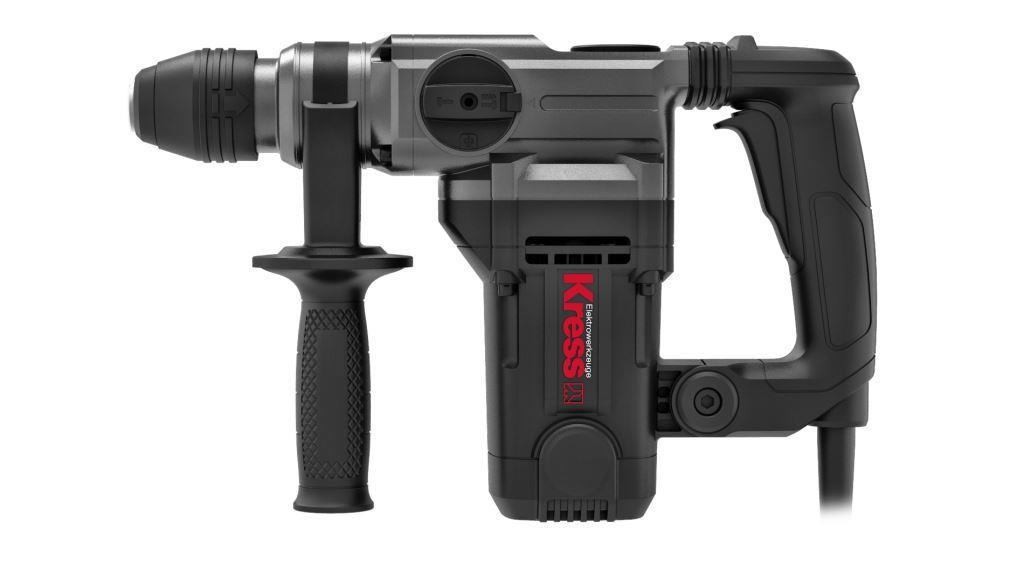 Перфоратор KRESS KU330 (1100 Вт,26 мм, SDS-plus, кейс)