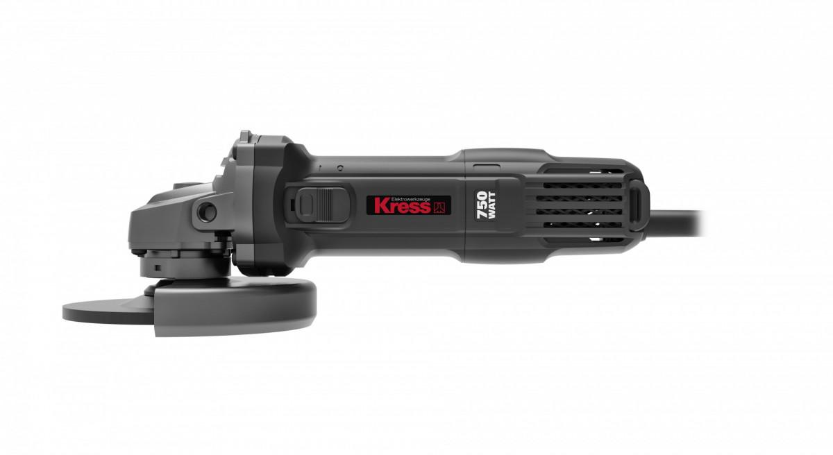 УШМ KRESS KU703 (750 Вт, 125 мм, коробка)