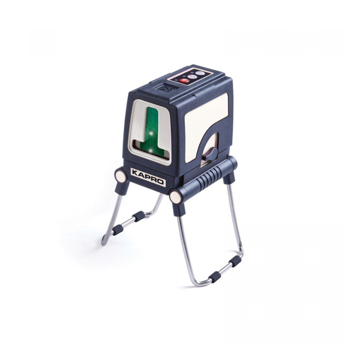 Нивелир Уровень KAPRO лазерный 872G зеленый с ножками и переходником 841 с 3бат