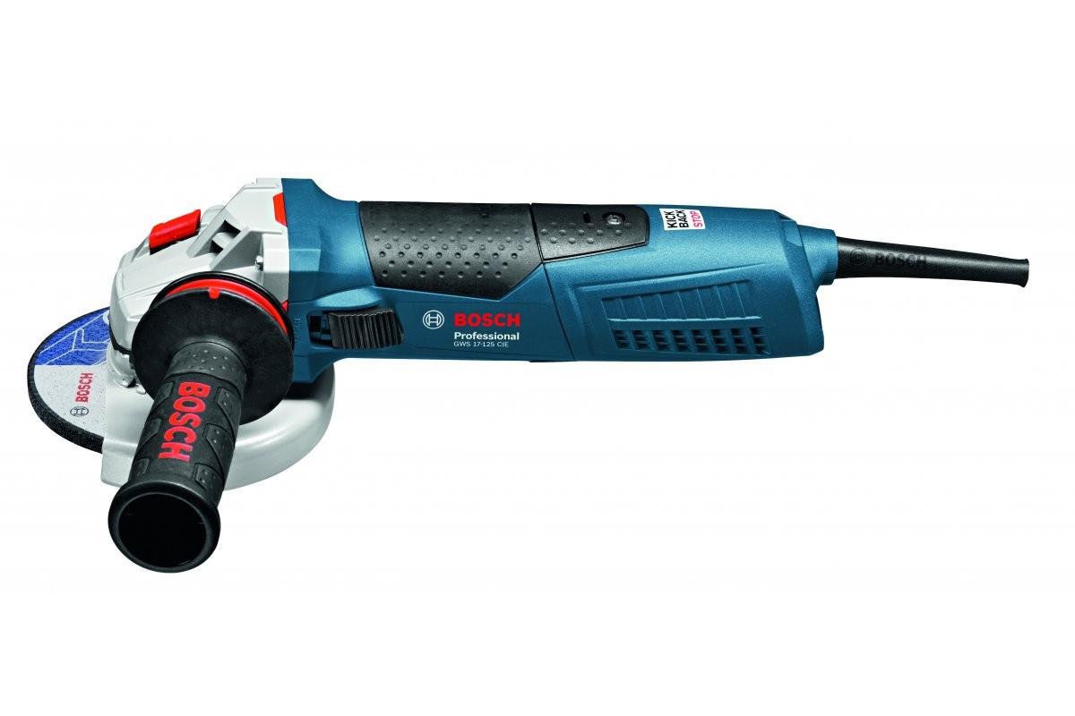 УШМ Bosch 125мм GWS 17-125 CI 06017950R2