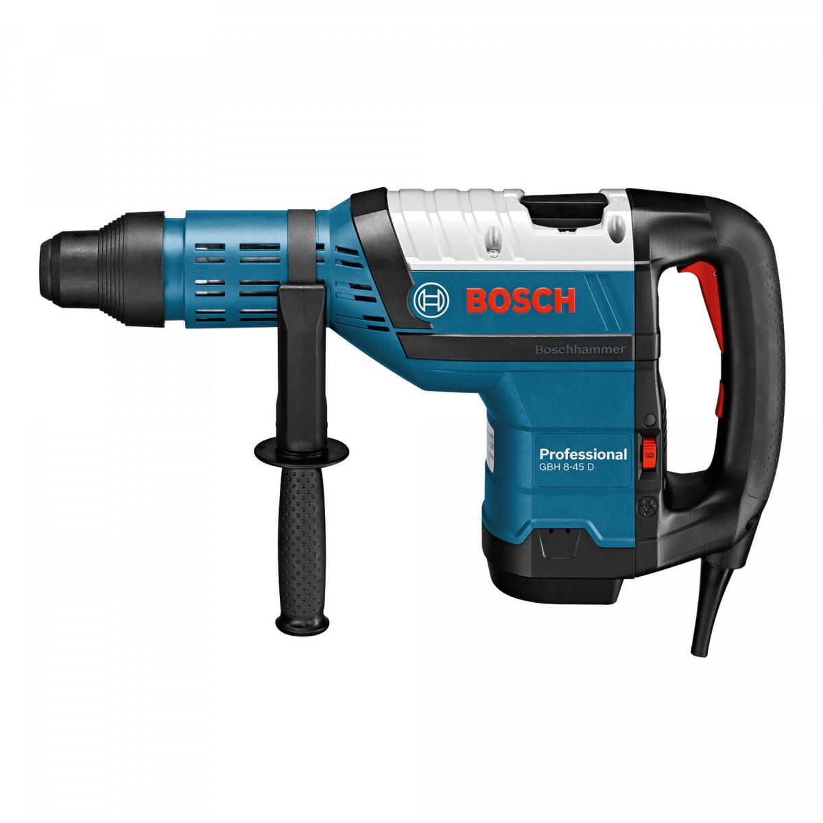 Перфоратор Bosch GBH 8-45 D  (1500Вт, 12.5Дж, SDS-Max)