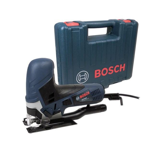 Лобзик  Bosch  GST 90 Е  (650 W, 90 мм дерево, 500 – 3.100 об/мин, 2,3 кг, кейс)