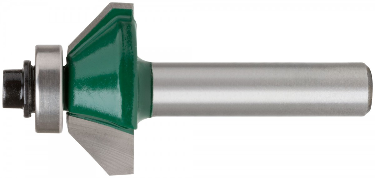 Фреза кромочная конусная с подшипником DxHxL=30х12х57,3мм