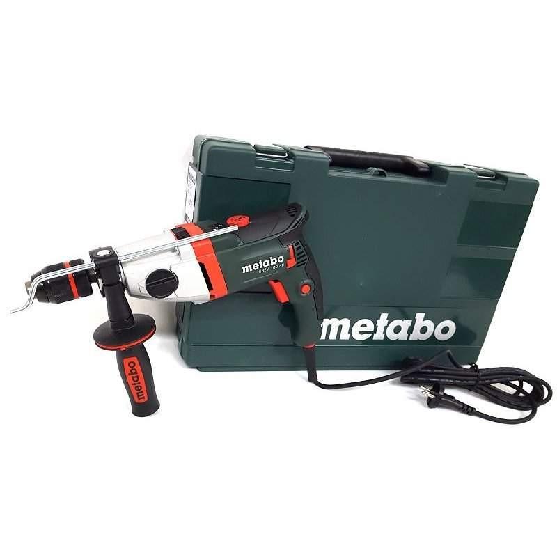 Дрель ударная Metabo SBEV 1000-2 (Futuro Plus 2 sleeves, case)