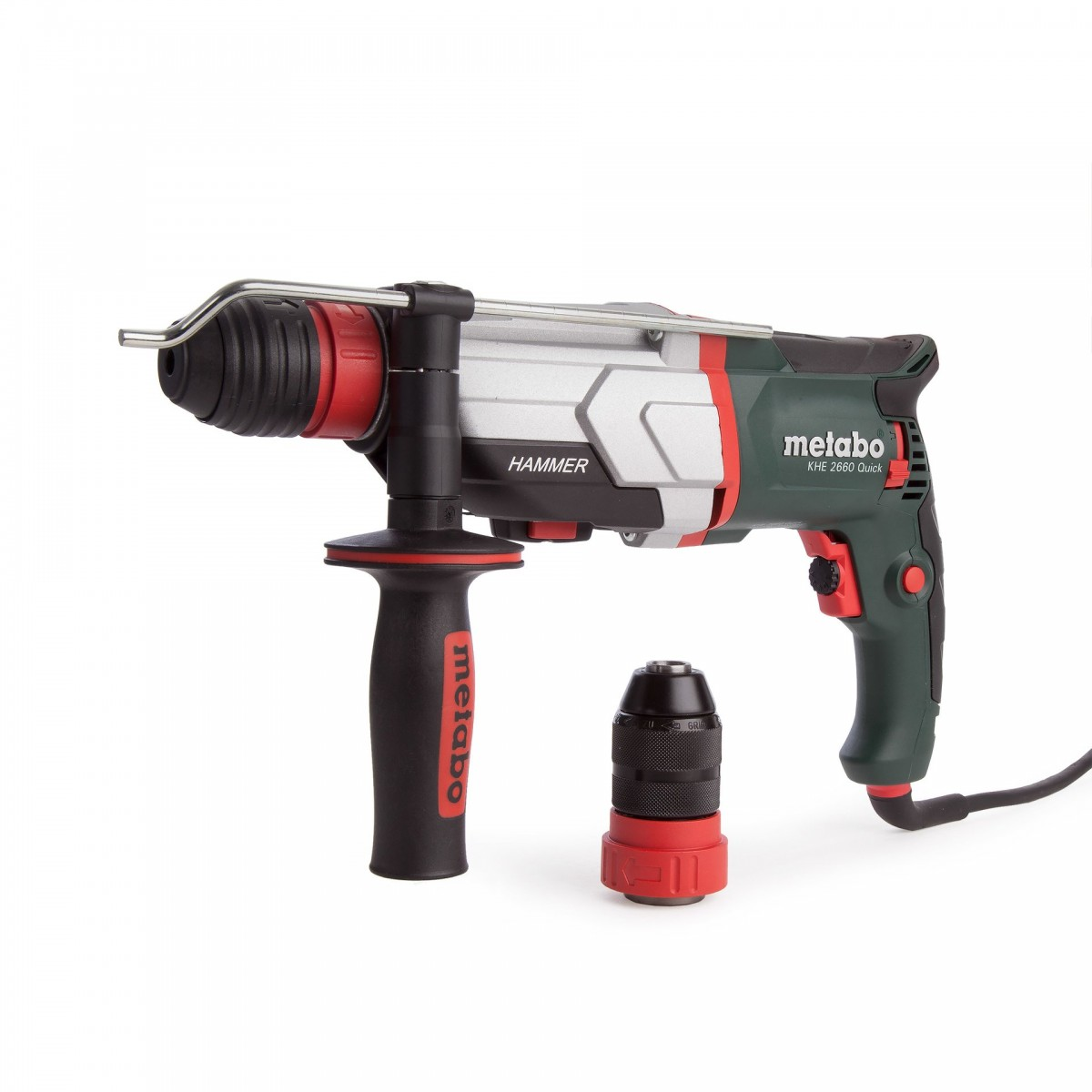 Перфоратор Metabo KHE 2660  Quick (SDS-plus, 850 Вт,  кейс)