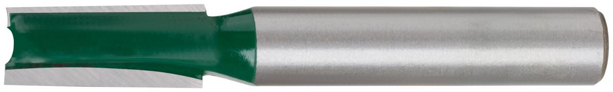 Фреза пазовая прямая с двойным лезвием DxHxL=8х76,2х116,2мм