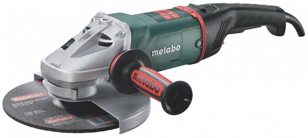 УШМ Metabo 230мм WE 24-230 MVT (2400Вт, 230мм) защита от пыли