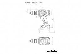 Шуруповерт Metabo BS18LTX BL I (2х5.2Ач, Li-lon, кейс, 120Нм) РЫБАЦ БЕЗЩЕТ