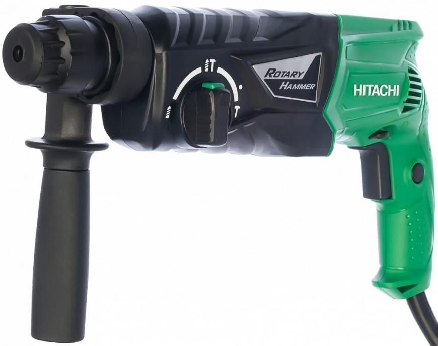 Перфоратор Hitachi DH24РН (730W, 2,7 Дж) 3реж