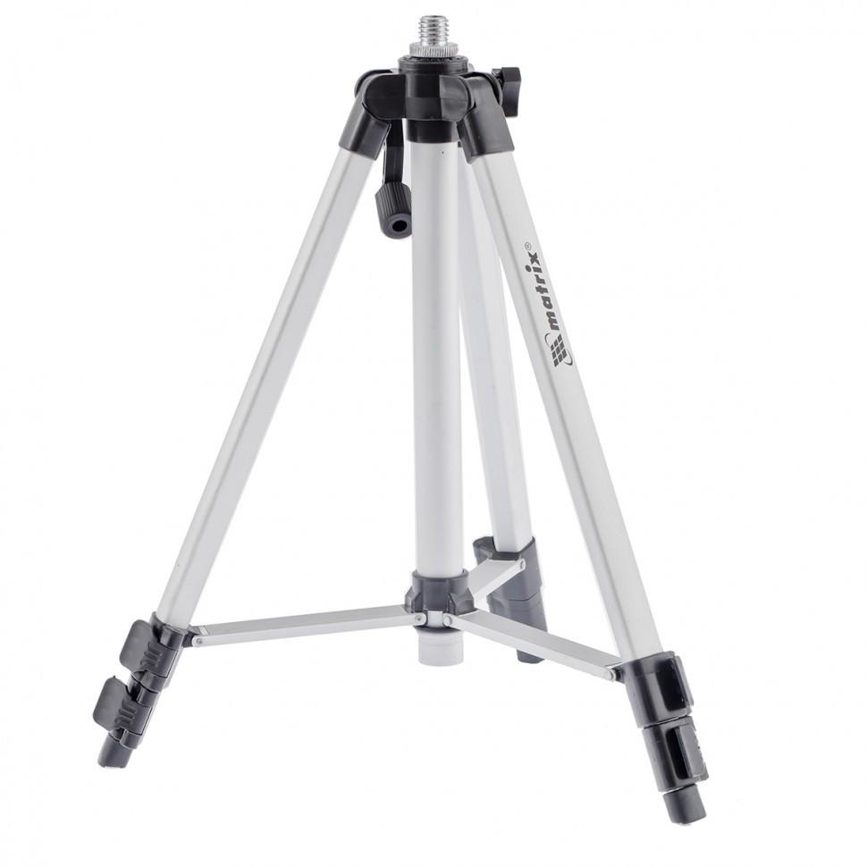 Штатив для лазерных уровней 1100 мм адаптер 5/8 1/4 Matrix