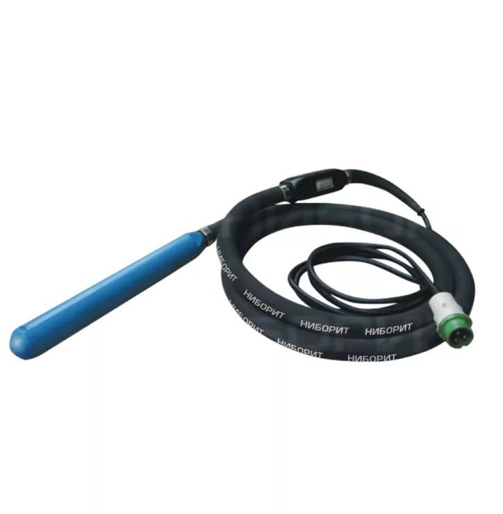Вибратор высокочастотный ВДВ-50 (наконечник 50мм/вал 5м/ 42В/200Гц/12А, кабель 10м) 15кг
