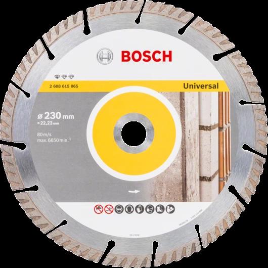 Диск алмазный Bosch Stf Universal 230-22,23 Турбо 3165140869751 DD5
