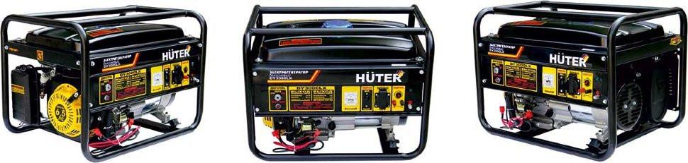 Генератор бензиновый Huter DY3000LX