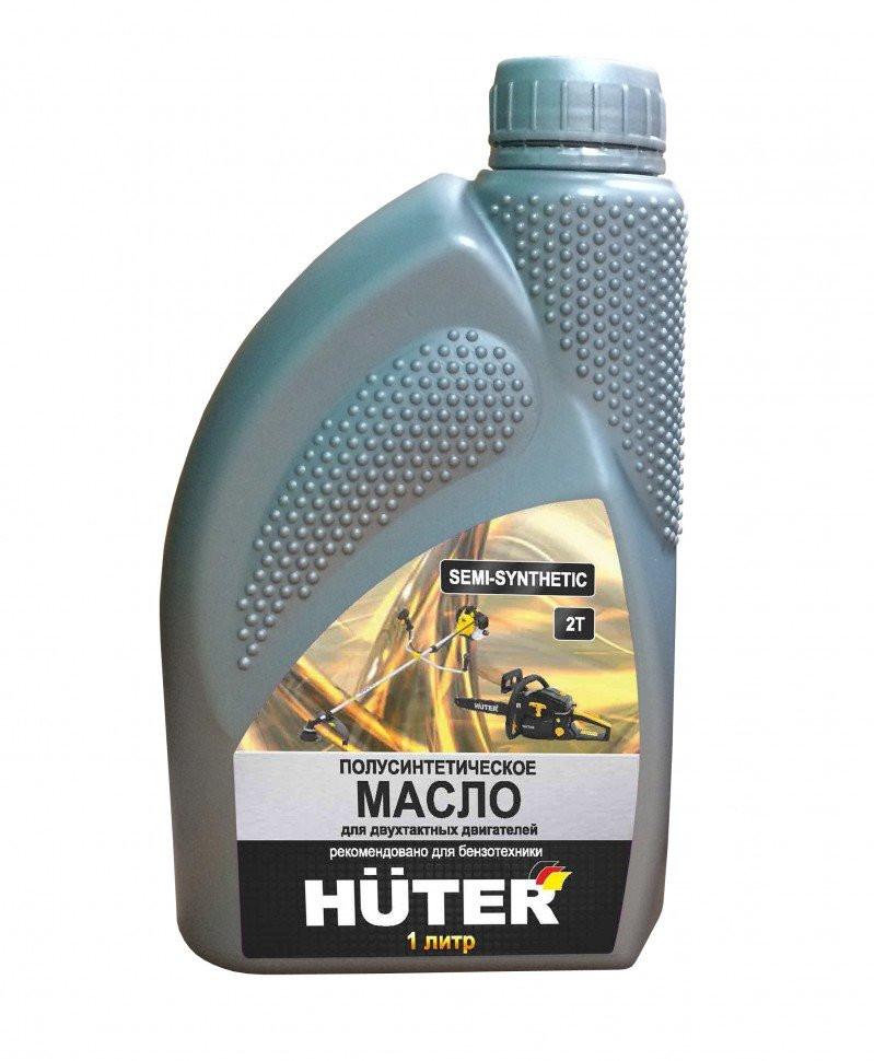 Масло моторное HUTER 2Т п/синтетика 1л