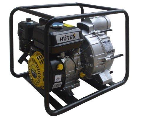 Мотопомпа Huter МРD-80 (7л/с, 30кг) для грязной воды