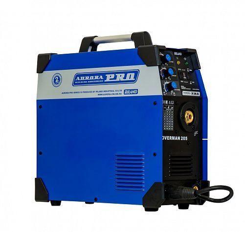 Инверторный сварочный полуавтомат OVERMAN 205 Mosfet/Aurora-Pro (220В)