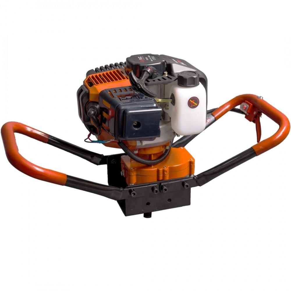 Мотобур PIT P51210 (2-х тактный,1,8кВт. об/двиг 52 см.8000об/мин,топ бак 1,2 л.,7,5 кг.)
