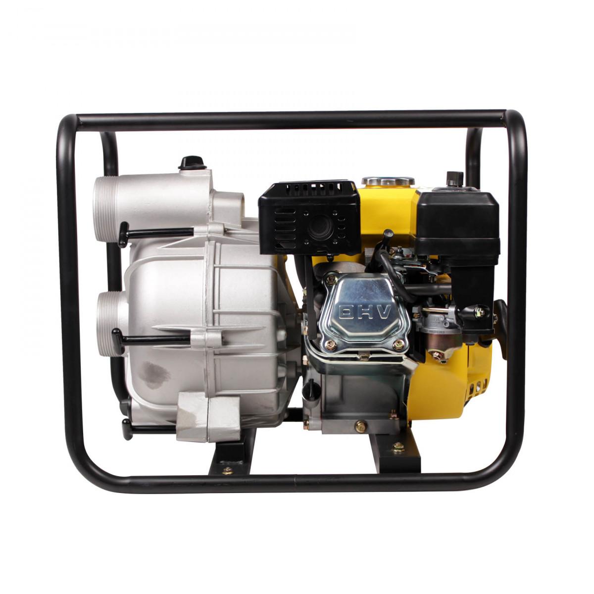 Мотопомпа CHAMPION GTP82 грязн (4,8кВт/6,5л/с,1300л/м,34,3кг) БЕЗ МАСЛА