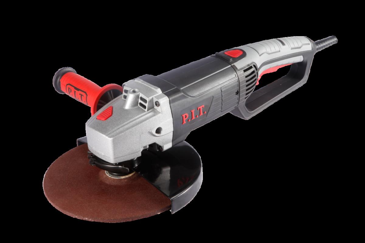 УШМ PIT 230мм PWS230-C2 (230мм, 2,3кВт, плавный пуск, поворотная ручка)