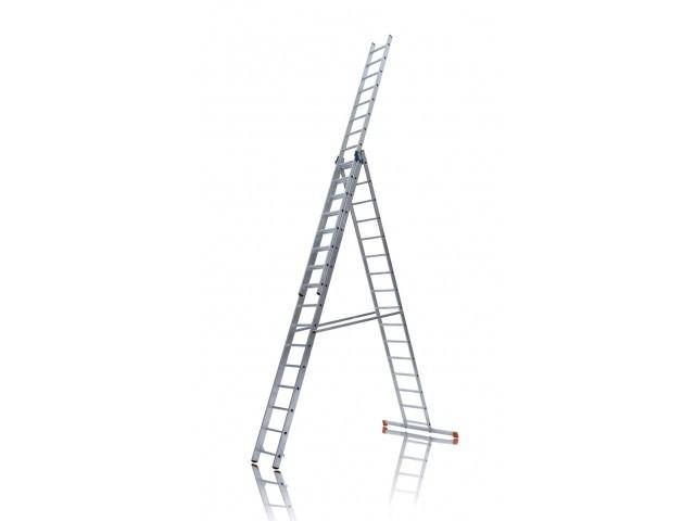 Лестница 3х10 алюминиевая - 5,25м