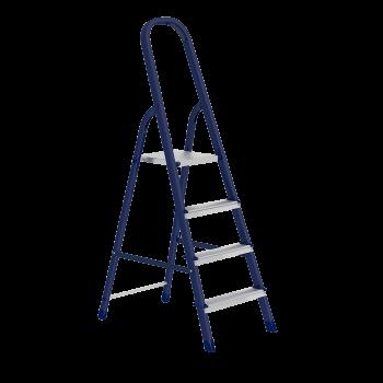 Стремянка стальная  4 ступеней СИБРТЕХ 63-0-104 38803-04*
