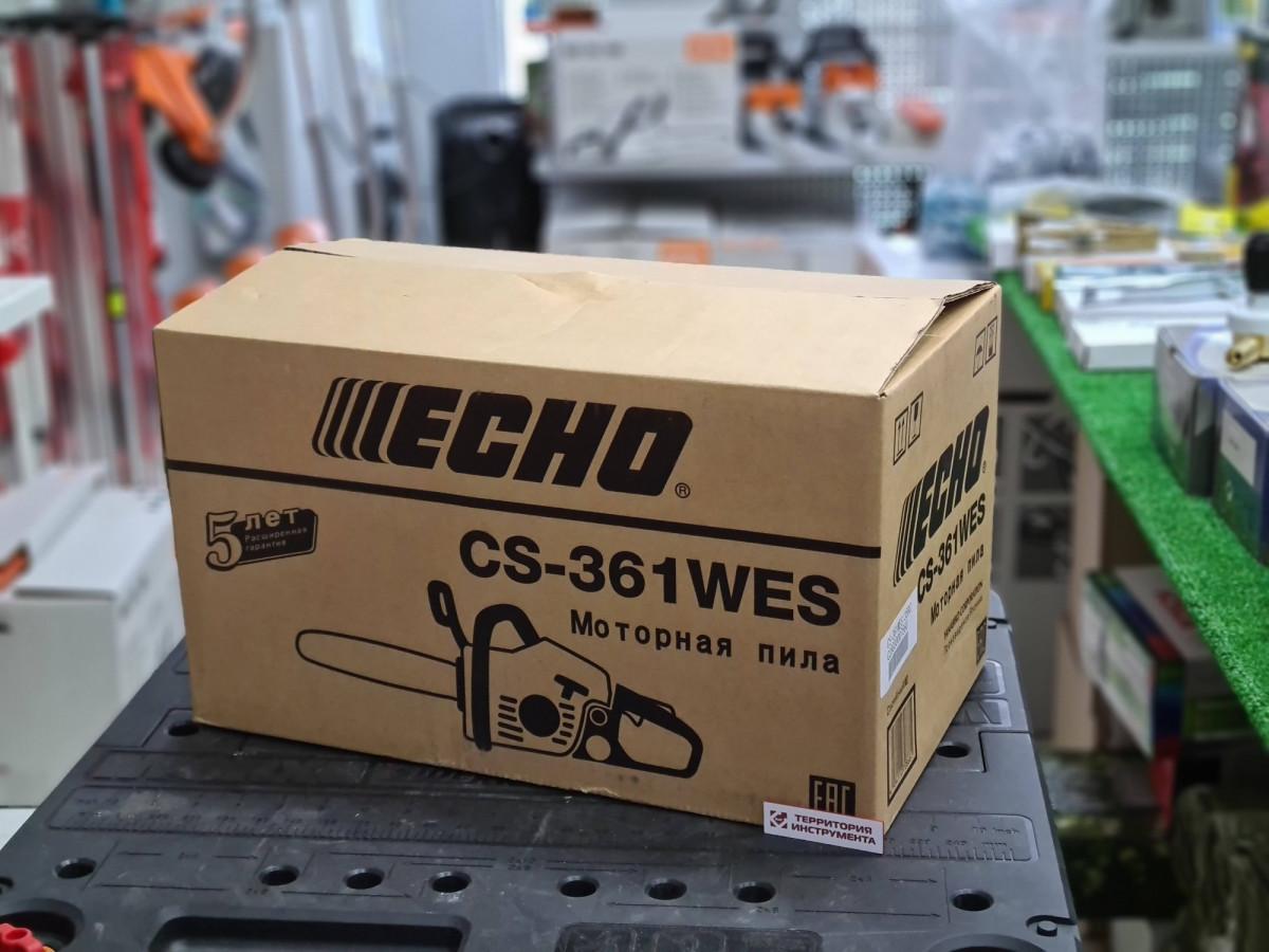 "Бензопила ECHO CS-361WES-14"" 3/8-1,3-53 (1,66кВт 35,8см³ 3,8кг)"