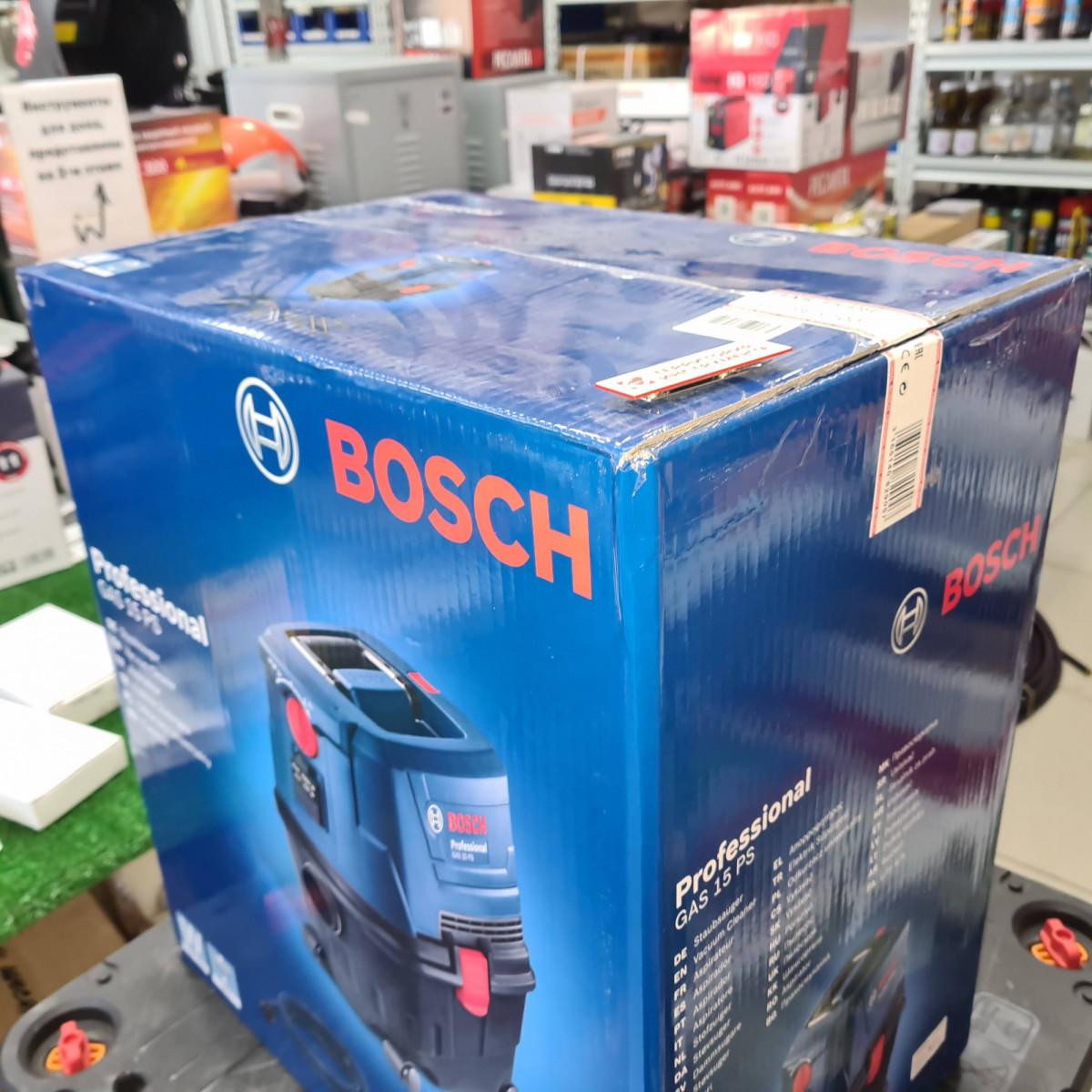 Пылесос строительный BOSCH GAS 15 PS