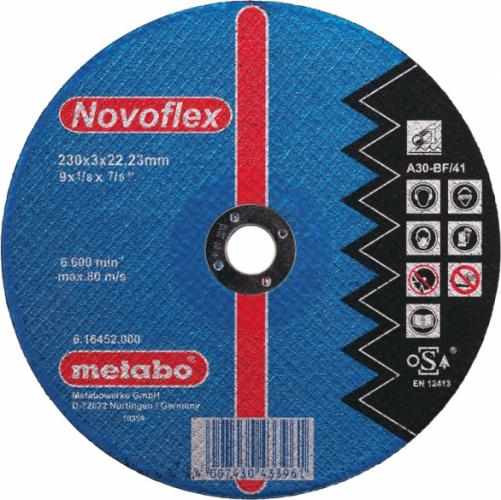 Круг отрезной 125мм сталь Novoflex 125х2,5х22.2 прямой