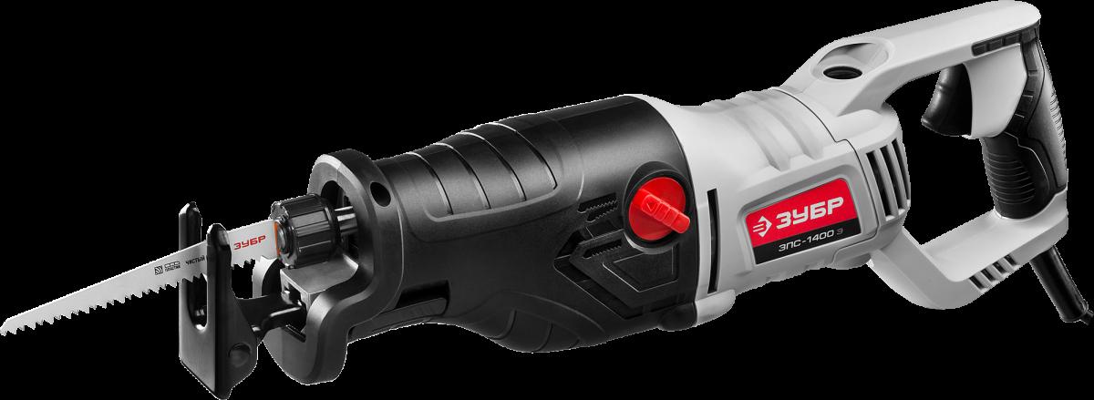 Пила сабельная ЗУБР (электроножовка), ЗУБР ЗПС-1400 Э, 1400 Вт, 0-2800 ход/мин,