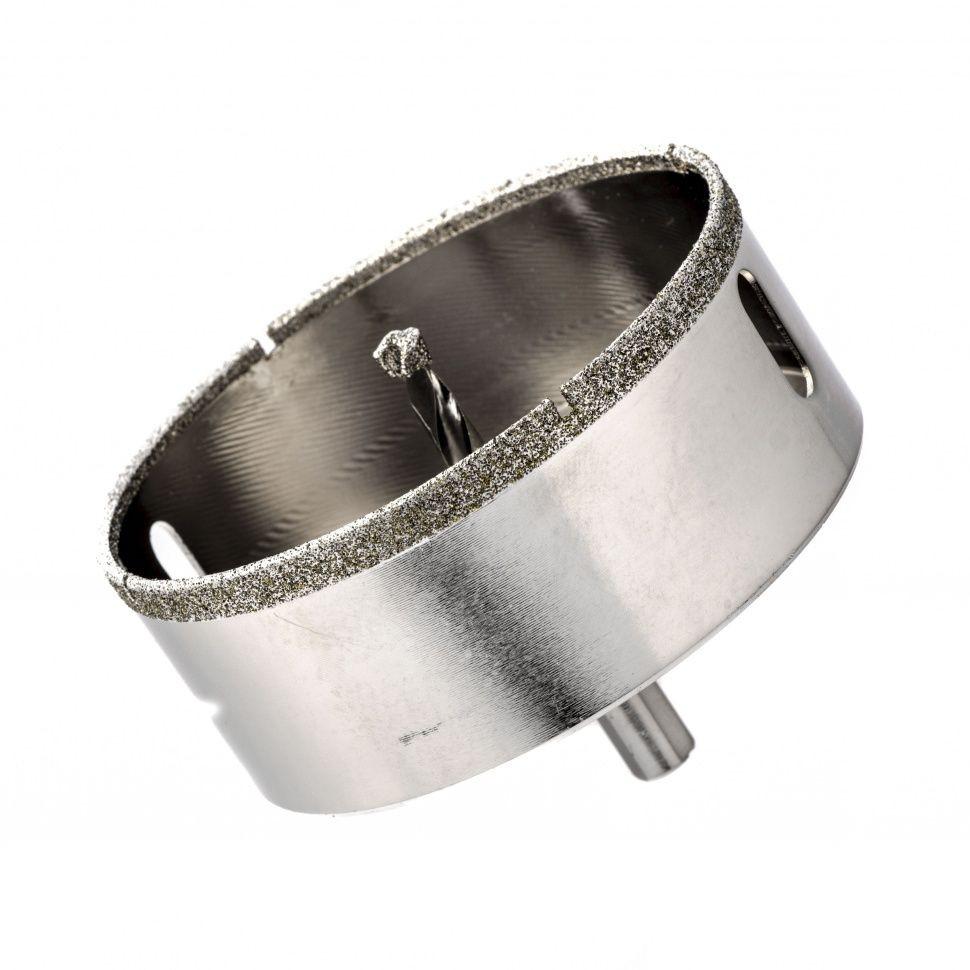 Сверло алмазное коронка по керамограниту, 85 х 67 мм, 3-гранный хвостовик// Matrix