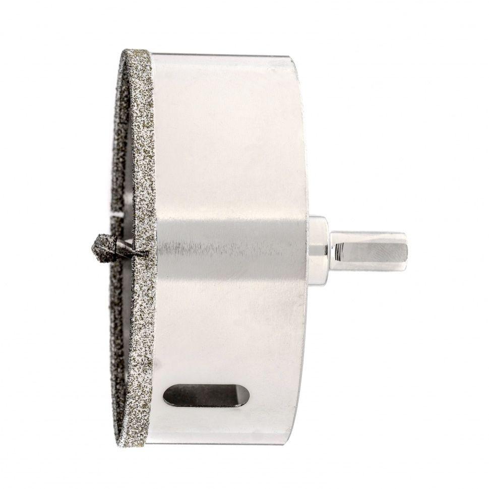 Сверло алмазное коронка по керамограниту, 95 х 67 мм, 3-гранный хвостовик// Matrix