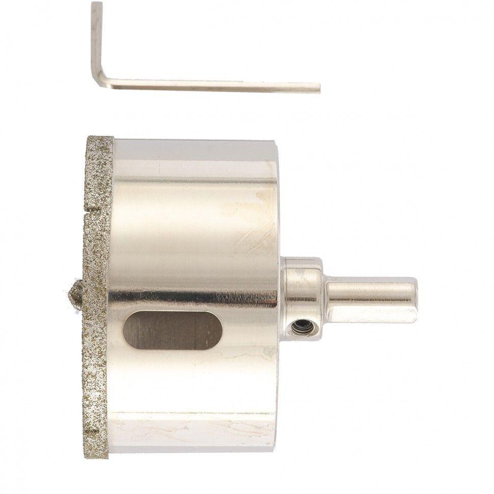 Сверло алмазное коронка по керамограниту, 68 х 67 мм, 3-гранный хвостовик// Matrix